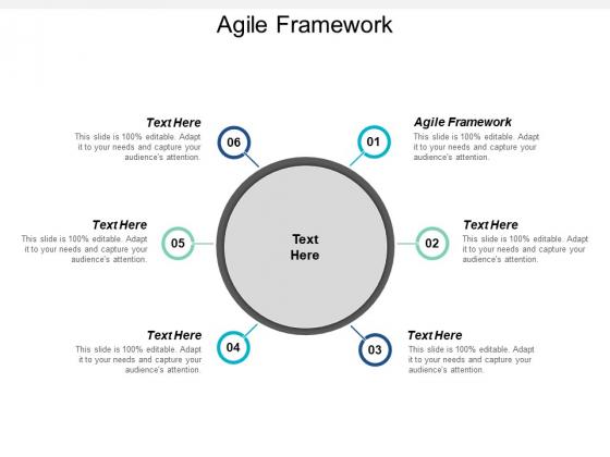 Agile Framework Ppt PowerPoint Presentation Slides Deck Cpb
