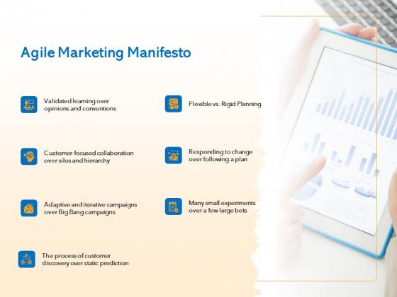 Agile Marketing Approach Agile Marketing Manifesto Ppt Professional Show PDF