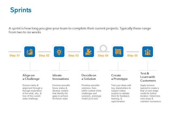 Agile Marketing Approach Sprints Ppt Infographics Slides PDF