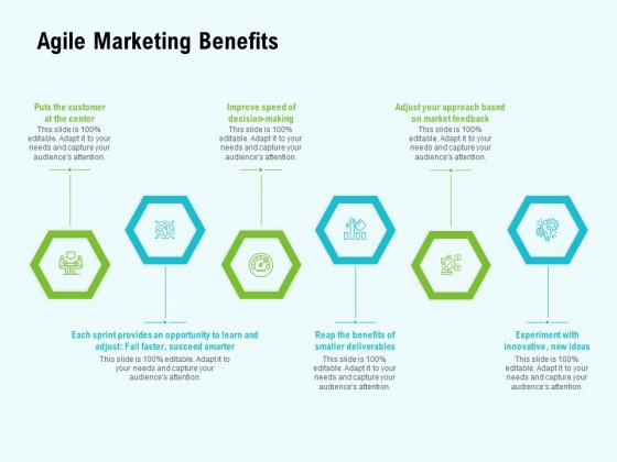 Agile Marketing Benefits Ppt Layouts Picture PDF