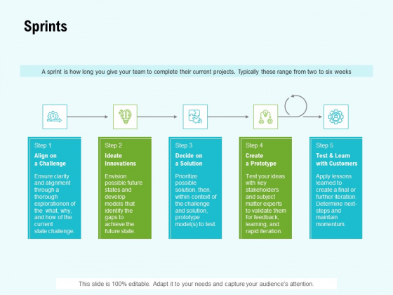 Agile Marketing Guide Sprints Ppt Infographics Graphic Tips PDF