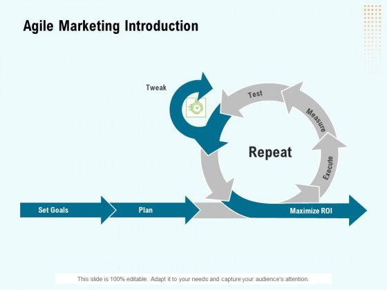 Agile Marketing Introduction Ppt Ideas Graphics PDF