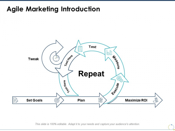 Agile Marketing Introduction Ppt PowerPoint Presentation Infographics Images