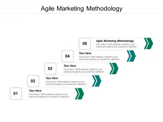 Agile Marketing Methodology Ppt PowerPoint Presentation Ideas Graphics Download Cpb