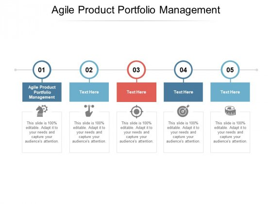 Agile Product Portfolio Management Ppt PowerPoint Presentation Pictures Summary Cpb