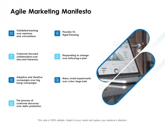 Agile Scrum Marketing Agile Marketing Manifesto Ppt Ideas Graphics Tutorials PDF