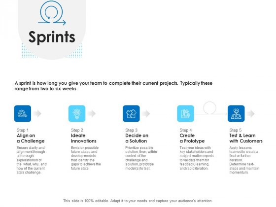 Agile Scrum Marketing Sprints Ppt Outline Example Introduction PDF