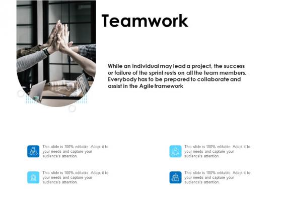 Agile Scrum Marketing Teamwork Ppt Ideas Deck PDF