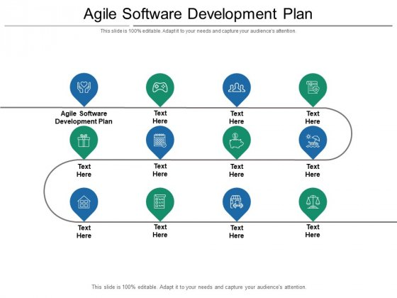 Agile Software Development Plan Ppt PowerPoint Presentation Visual Aids Slides Cpb Pdf