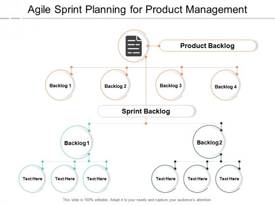 Agile Sprint Planning For Product Management Ppt PowerPoint Presentation Portfolio Skills