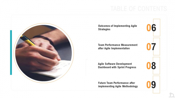 Agile_Techniques_For_Improving_Tasks_And_Enhancing_Team_Performance_Ppt_PowerPoint_Presentation_Complete_Deck_With_Slides_Slide_33