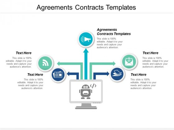 Agreements Contracts Templates Ppt PowerPoint Presentation Show Design Ideas Cpb