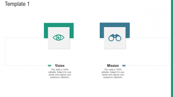 Aim And Objective Statement Template Vision Ppt Infographics Aids PDF