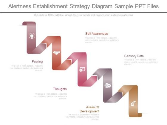 Alertness Establishment Strategy Diagram Sample Ppt Files