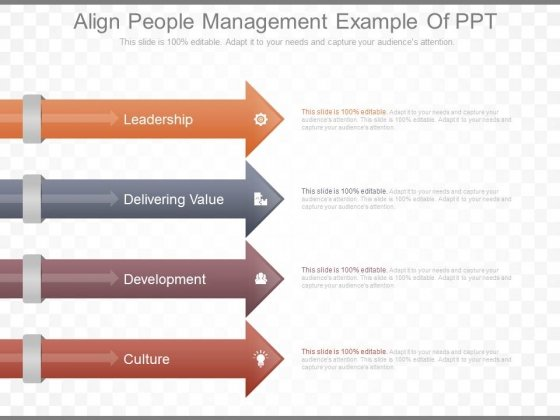 Align People Management Example Of Ppt