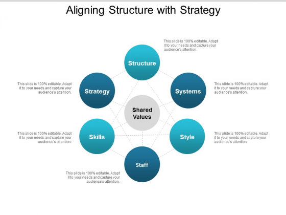 Aligning Structure With Strategy Ppt PowerPoint Presentation Show Structure