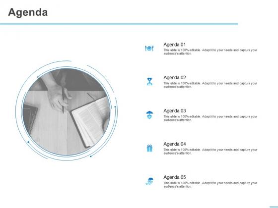 All About HRM Agenda Ppt Slides Brochure PDF