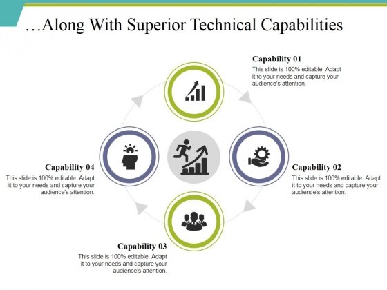 Along With Superior Technical Capabilities Ppt PowerPoint Presentation Show Deck