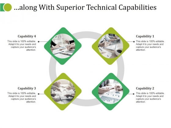 Along With Superior Technical Capabilities Ppt PowerPoint Presentation Slides Backgrounds