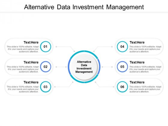 Alternative Data Investment Management Ppt PowerPoint Presentation Show Skills Cpb