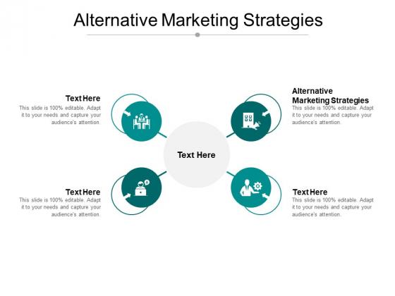 Alternative Marketing Strategies Ppt PowerPoint Presentation Show Format Cpb