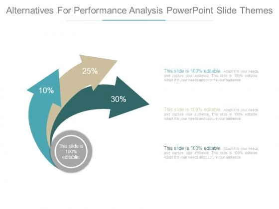Alternatives For Performance Analysis Powerpoint Slide Themes