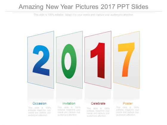 Amazing New Year Pictures 2017 Ppt Slides