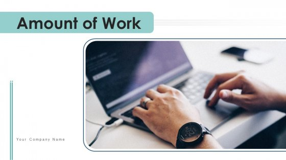 Amount Of Work Manpower Allocation Ppt PowerPoint Presentation Complete Deck With Slides
