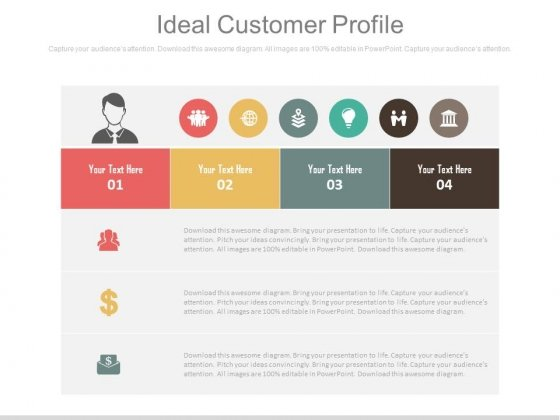 An Ideal Customer Profile Ppt Slides  Powerpoint Templates