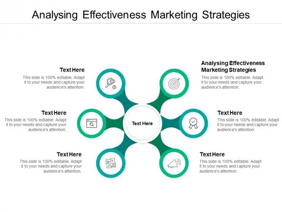 Analysing Effectiveness Marketing Strategies Ppt PowerPoint Presentation Summary Format Cpb