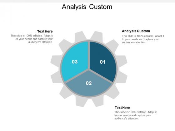Analysis Custom Ppt PowerPoint Presentation Inspiration Ideas Cpb
