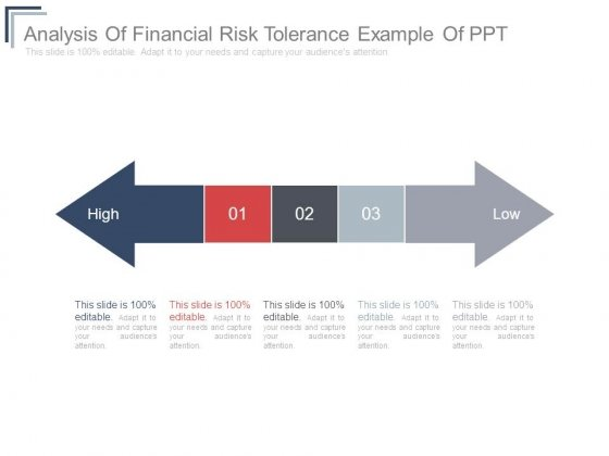 Analysis Of Financial Risk Tolerance Example Of Ppt