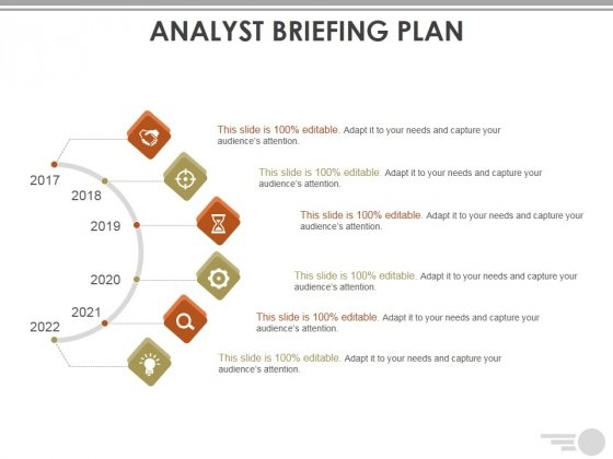 Analyst Briefing Plan Ppt PowerPoint Presentation Layouts Slide Portrait
