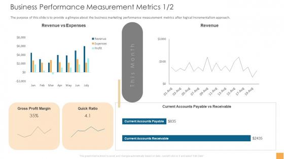 Analytical Incrementalism Business Performance Measurement Metrics Download PDF