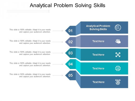 Analytical Problem Solving Skills Ppt PowerPoint Presentation File Graphics Template Cpb Pdf
