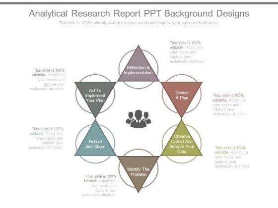 Analytical Research Report Ppt Background Designs