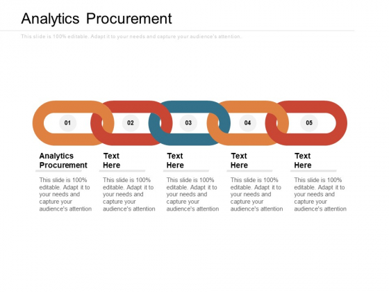 Analytics Procurement Ppt PowerPoint Presentation Show Infographics Cpb Pdf