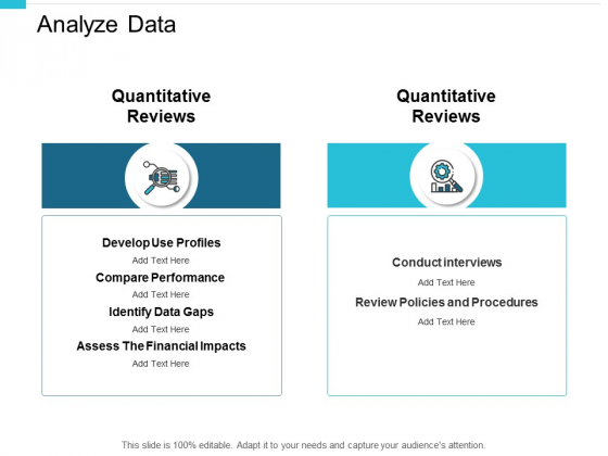 Analyze Data Financial Impacts Ppt PowerPoint Presentation Gallery Slide Download