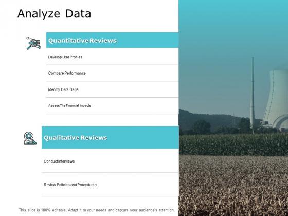 Analyze Data Slide Compare Performance Ppt PowerPoint Presentation