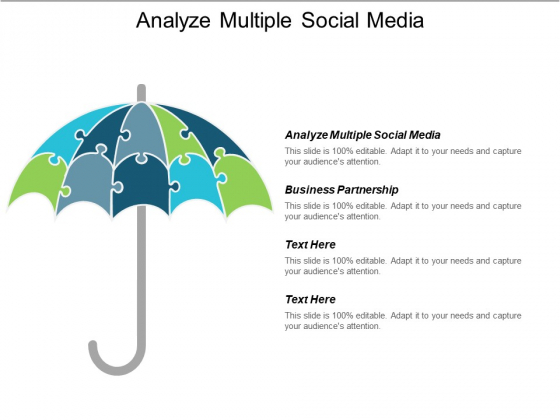 Analyze Multiple Social Media Ppt PowerPoint Presentation Pictures Templates Cpb