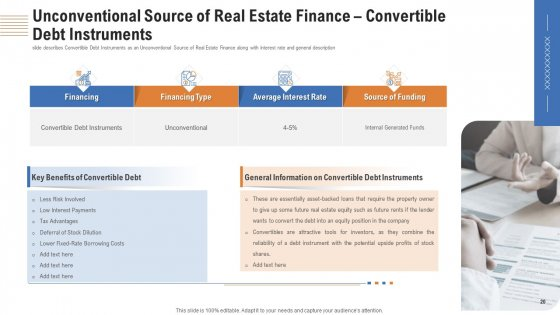 Analyzing_Real_Estate_Funding_Sources_With_Cost_Of_Borrowing_Ppt_PowerPoint_Presentation_Complete_Deck_With_Slides_Slide_20
