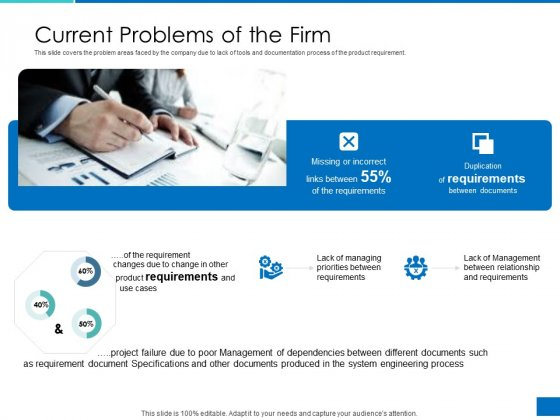 Analyzing_Requirement_Management_Process_Current_Problems_Of_The_Firm_Summary_PDF_Slide_1