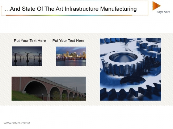 And State Of The Art Infrastructure Manufacturing Ppt PowerPoint Presentation Pictures Infographic Template
