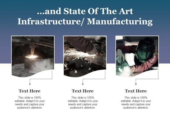 And State Of The Art Infrastructure Manufacturing Ppt PowerPoint Presentation Summary Designs Download
