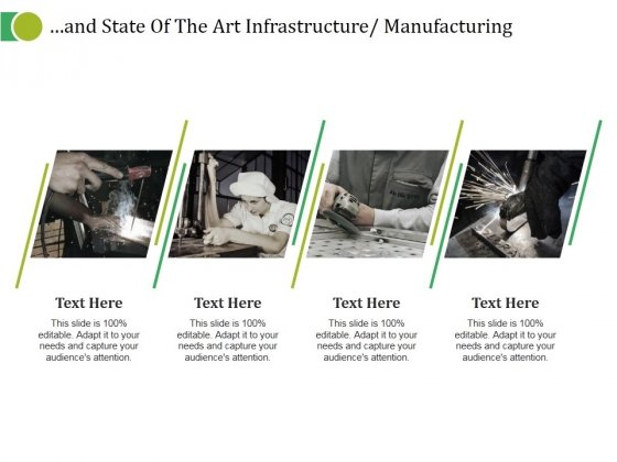 And State Of The Art Infrastructure Manufacturing Ppt PowerPoint Presentation Summary Introduction