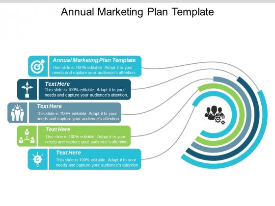 Annual Marketing Plan Template Ppt PowerPoint Presentation Layouts Clipart Cpb