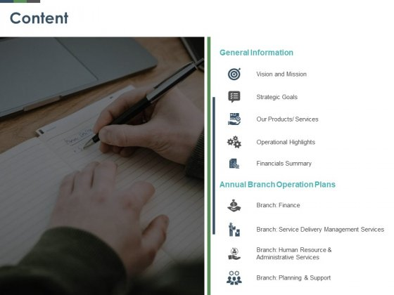 Annual_Operative_Action_Plan_For_Organization_Content_Ppt_Summary_Ideas_PDF_Slide_1