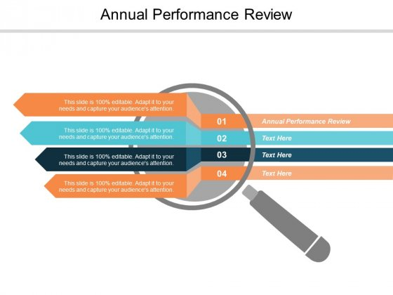 Annual Performance Review Ppt PowerPoint Presentation Example Cpb