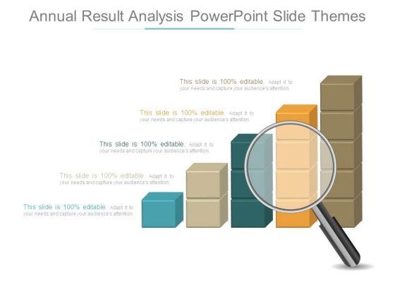 Annual Result Analysis Powerpoint Slide Themes