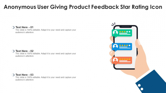 Anonymous_User_Giving_Product_Feedback_Star_Rating_Icon_Ppt_PowerPoint_Presentation_File_Topics_PDF_Slide_1